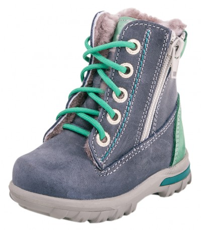 171273523 Ботинки для мальчика зимние натуральная кожа овчина