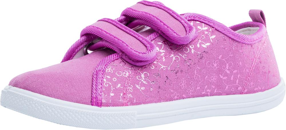 0eceb6a0f Купить туфли для девочки летние сиреневый текстильные арт. 631092-11 ...